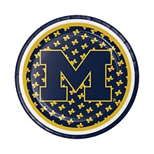 University of Michigan Plate - Luncheon Plate 7'' 8pk