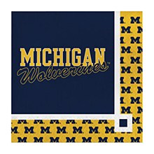 University of Michigan Napkin - Beverage Napkin
