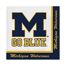 University of Michigan Napkin - Luncheon Napkin