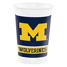 University of Michigan Cup - 20oz Plastic 8pk