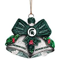 Michigan State University Ornament - Glass Ball Ornament