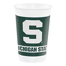 Michigan State University Cup - 20oz Plastic 8pk