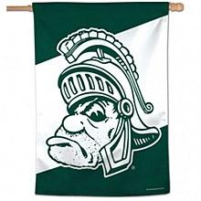 Michigan State University Banner - Vertical Gruff College Vault 28''x40''