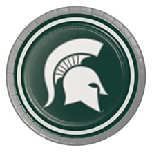 Michigan State University Plate - Luncheon Plate 7'' 8pk