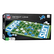 Detroit Lions Game - Checkers Board Game
