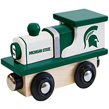 Michigan State University Toy Wood Train Engine