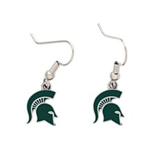 Michigan State University Dangle Earrings