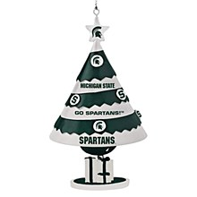 Michigan State University Ornament - Tree Shaped Oranment