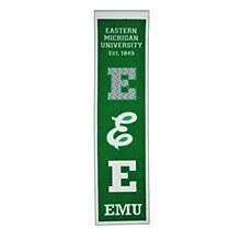 Eastern Michigan University Heritage banner 8'' x 32''