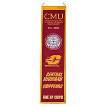 Central Michigan Univrtsity Banner - Heritage 8'' x 32''