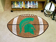 Michigan State University Rug - Football Rug Mat 22'' x 35''