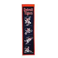 Detroit Tigers Banner - Fan Favorite Heritage 8'' x 32''