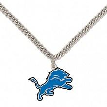 Detroit Lions Necklace w/Charm