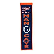 Detroit Tigers Banner - Man Cave 8'' x 32''