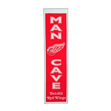 Detroit Red Wings Banner - Man Cave 8'' x 32''