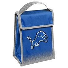 Detroit Lions Insulated Lunch Bag w/ Velcro Closure