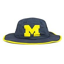University of Michigan Hat -  Wolverines Blue Waterproof Boonie