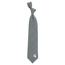 Michigan State Spartans Diamante Necktie