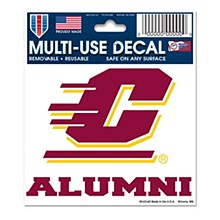 Central Michigan University Decal  Multi-Use Alumni 3''x4''