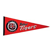 Detroit Tigers Pennant - Cooperstown 13'' x 32''