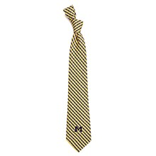 University of Michigan Tie - Gingham Necktie