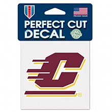 Central Michigan University Decal Perfect Cut 4' 'x 4''