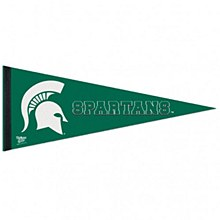 Michigan State University Pennant - Spartans Premiun Pennant 12'' x 30''