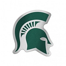 Michigan State University Decal Auto Badge Spartan 5'' x 2.5''