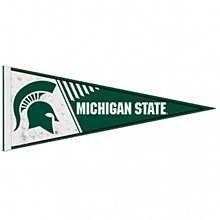 Michigan State University Pennant Spartan Classic 12'' x 30''