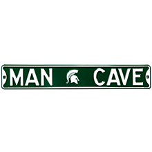 Michigan State University Sign - Man Cave Steel Sign 6''x36''