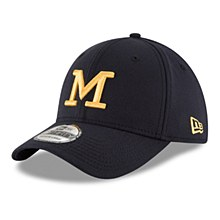 New Era Michigan Wolverines Navy College Classic 39Thirty Flex Hat