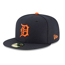 Detroit Tigers Authentic Collection 59Fifty Fitted Road 2018