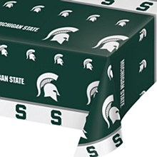 "Michigan State University Tablecover - 45"" x 108"""
