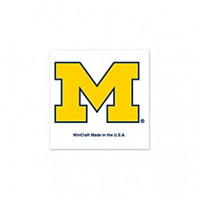 University of Michigan Tattoo 4 Pack