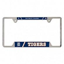 Detroit Tigers License Plate Frame Metal 6'' x 12''