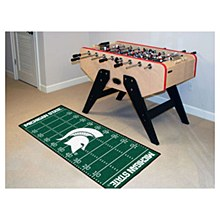 Michigan State University Rug - Football Field Runner Rug 29.5'' x 72''
