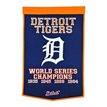 Detroit Tigers Banner - Dynasty 24'' x 36''