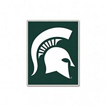 Michigan State University Collectible pin Rectangle Logo