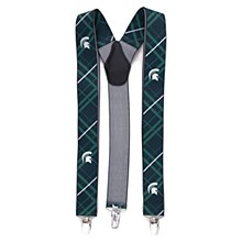 Michigan State University Suspenders Oxford