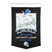 Detroit Lions Banner - Ford Field  24'' x 15''