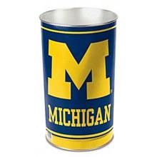 University of Michigan Wastbasket 15''H