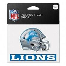 Detroit Lions Decal - Lions Helment 4.5'' x 5.75''