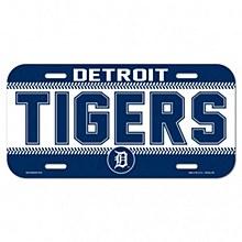 Detroit Tigers License Plate 6'' x 12''