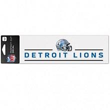 "Detroit Lions Decal - Helmet Perfect Cut 3"" x 10"""