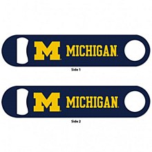 University of Michigan Metal Bottle Opener 2 Sided