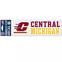 Central Michigan University Decal Perfect Cut 3' 'x 10''