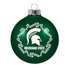 Michigan State University Ornament - Candy Cane Traditional Ornament