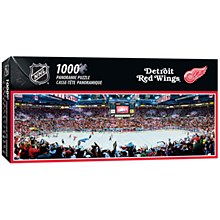Detroit Red Wings 1000pc Stadium Panoramic Jigsaw Puzzle