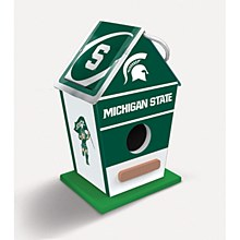 Michigan State University Birdhouse 8''x5''x4''
