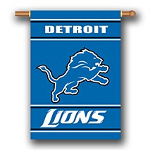 Detroit Lions Banner 2-Sided 28''x40''